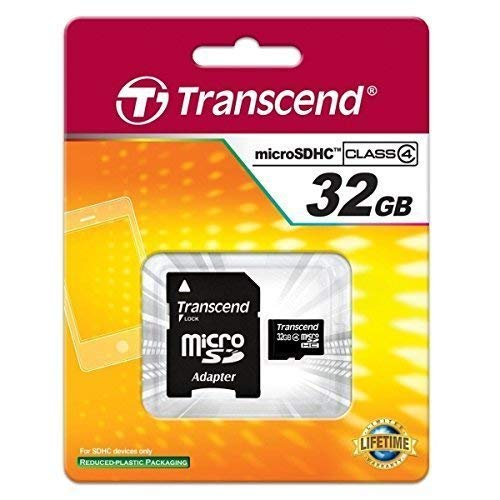 Samsung Galaxy S5 Cell Phone Memory Card 32GB microSDHC Memory Card with SD Adapter