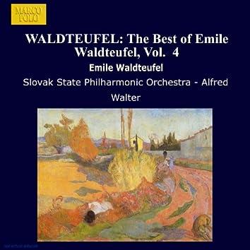 WALDTEUFEL: The Best of Emile Waldteufel, Vol.  4