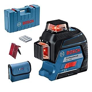 Bosch Professional GLL 3-80 Livella Laser Rosso, Raggio d'Azione Fino a 30 m, 4 Pile AA, Valigetta, Blu (B0768PD5DR) | Amazon price tracker / tracking, Amazon price history charts, Amazon price watches, Amazon price drop alerts