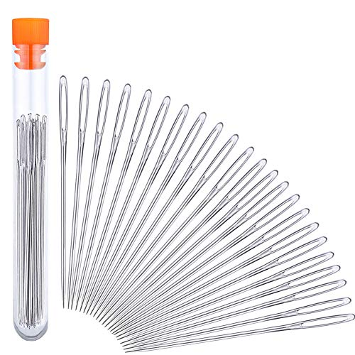 30 Pcs Sewing Needles 4 Pcs Sewing Seam Rippers and 100 Pcs Sewing Fabric Clips Embroidery and Quilting Sewing Tools Set for Thread Remove Thread Remover Tool Kit with Thimble Scissors