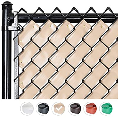 Fenpro Chain Link Fence Privacy Tape (Desert Tan)
