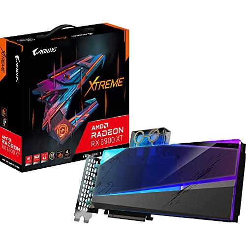 Gigabyte AORUS GV-R69XTAORUSX WB-16GD Tarjeta gráfica AMD Radeon RX 6900 XT 16 GB GDDR6