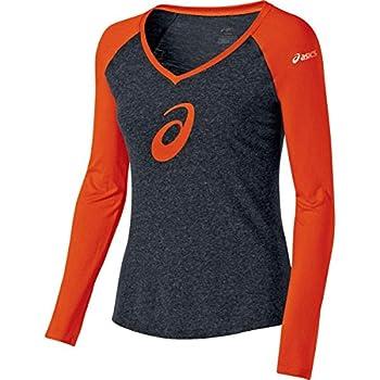 ASICS W's TM Profile Raglan pour Femme Large Orange