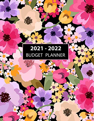 2021-2022 Budget Planner: Two Year Calendar Budget Planner Size 8.5