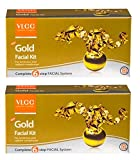 Vlcc Gold Facial Kit 60gm (Pack of 2) - Pamherbals