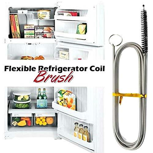 lzndeal Kühlschrank Abflussloch Reinigungsbürsten,Haushaltsküche Abflussrohr Lange Flexible Kühlschrank Waschbürste Reinigungswerkzeug