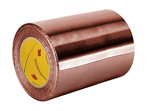TapeCase 1194 plakfolie, koper, acryl, niet geleidend, van 3M 1194, 15,2 x 91,4 m, lengte: 91,4 cm, breedte: 15,2 cm
