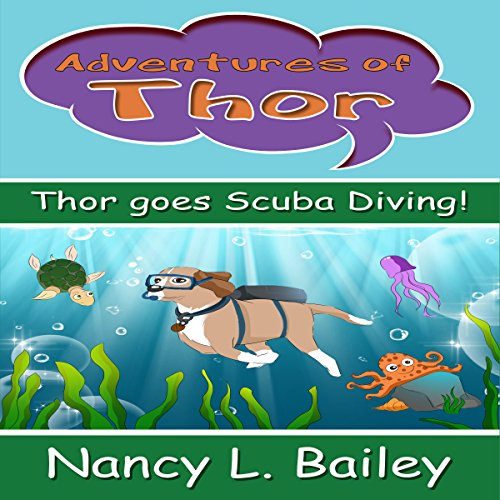 Thor Goes Scuba Diving! audiobook cover art