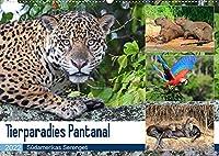 Tierparadies Pantanal (Wandkalender 2022 DIN A2 quer): Tierreichtum im Suedwesten Brasiliens (Monatskalender, 14 Seiten )