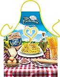 Italienische Küche Schürze Kochschürze Nudeln Spaghetti : Spaghetti Carbonara - Themenschürze...