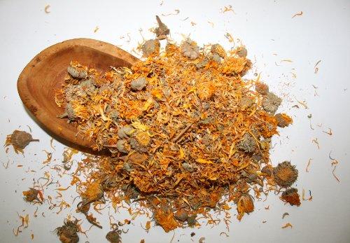 Organic Bio Herbs-Organic Dried Marigold Flowers (Calendula Officinalis) 2 Oz.