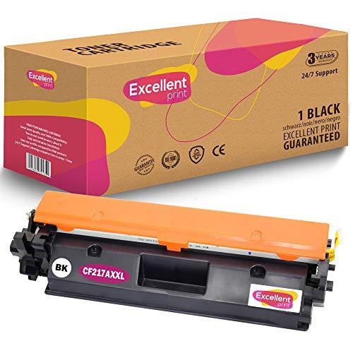 Excellent Print CF217A 17A XXL Compatible Cartucho de Toner para HP Laserjet Pro MFP M130fn M130a M102a