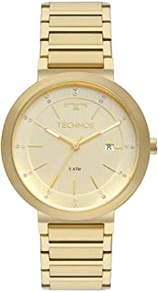 Relógio Technos Feminino Elegance Trend Dourado 2115KTJ4X