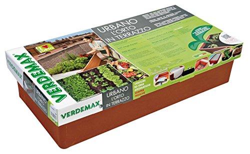 VERDEMAX 2250 contenedor Huerto Urbano, Antracita