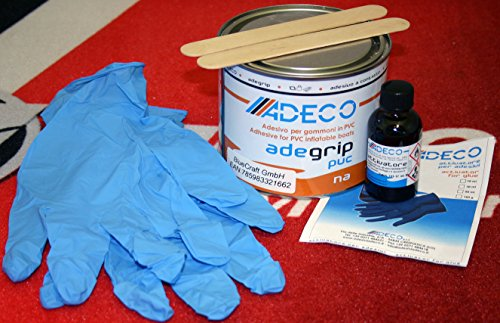 Adeco Adegrip PVC rubberboot lijm 2-componenten 500g