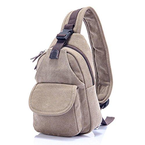 Sincere® sac de poitrine / Messenger hommes sac / sac femmes de la poitrine / fourre-2 carrés