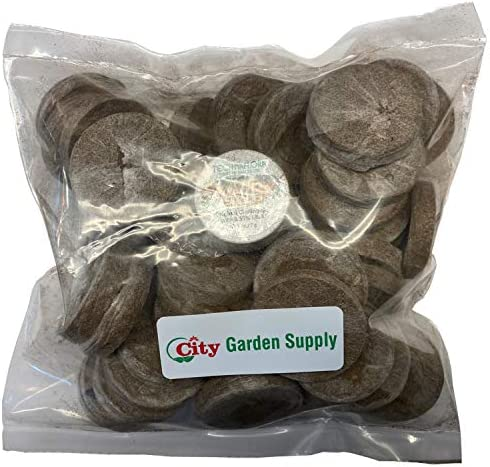Jiffy 7 Peat Pellets 36 MM Seed Starting Plugs Seeds Starter Start Plant Seedlings Early Pack product image