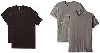Calvin Klein Men's Undershirts Cotton Stretch Multipack Crew Neck Tshirts