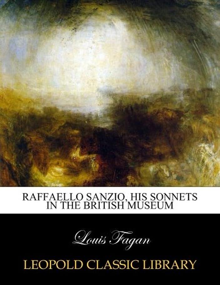 曲線適合のRaffaello Sanzio, his sonnets in the British Museum