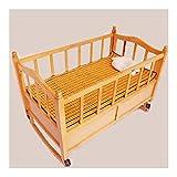 NCHEOI Bambú Cool Sleeping Mat Summer Niño Cojín de Dormir Liso Aire Acondicionado Cama Topper Mat Futon Colchones Pliegue (Size : 60x130cm)