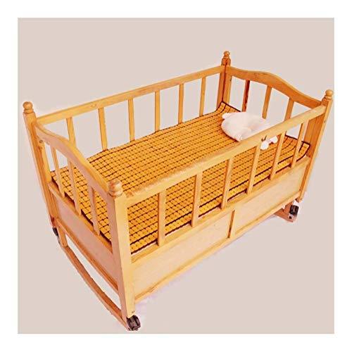 ZXL Bambu cool sovmatta sommar barn matta slät luftkonditionerad säng bäddmadrass futon madrass veck (storlek: 70 x 110 cm)