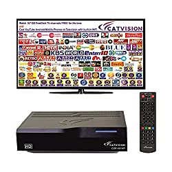 Catvision Advanced 2 in 1 Set Top Box with Mobile Cast to Television   HDMI Connectivity   2 Years Warranty  ,Catvision