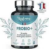 Probiotique Flore Intestinale - Jusqu'à 60 Milliards UFC/Jour - 10 Souches : Immunité,...