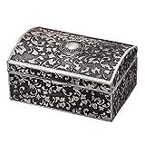 Vintage Jewelry Storage Box Caja Del Anillo Del Pecho Caja De Almacenamiento De...