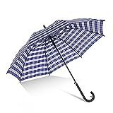 ZRJ Paraguas Portátil Umbrella Lluvia Viaje Paraguas A Prueba Viento E Impermeables Gran Tamaño para Hombres Colores Múltiples Paraguas Clásicos (Color : B)