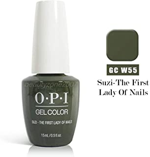 New Look SUZI THE FIRST LADY OF NAILS GC W55 GELCOLOR SOAK OFF GEL 0.5 OZ + Free Gift (see Product description below)