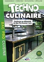 Techno culinaire Bac Pro de Michel Maincent