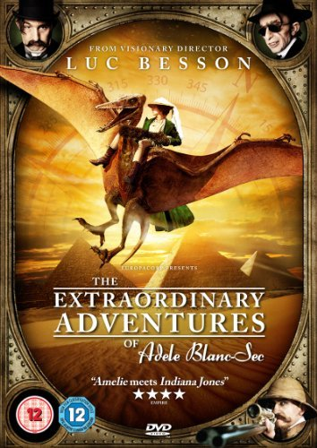 The Extraordinary Adventures of Adele Blanc-Sec [DVD] by Louise Bourgoin