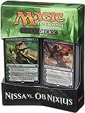 Magic The Gathering 14443 - Juego de Duelo de Cartas de Nissa vs. OB Nixilis