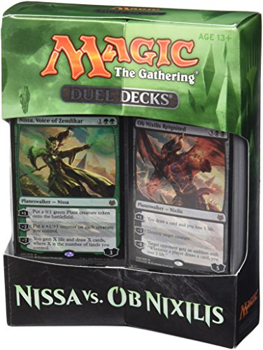 Magic The Gathering 14443 Nissa VS OB Nixilis Doppeldeck-Spielkarten