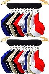 in budget affordable XJunion Coat Hanger Organizer (for baseball caps), Holder (for 10 baseball caps), Hat Organizer (for wardrobe) – Change …
