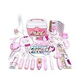 Los niños Kit Médico 46PCS Pretend doctor Nurse médico de cabecera juguete kit del juguete los niños Pretend-n-play Médico Juguetes Set con el envase de Carry-almacenamiento para los niños regalos de