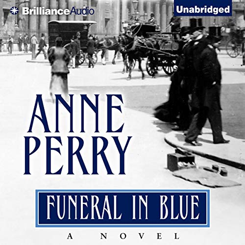 Funeral in Blue Audiobook By Anne Perry cover art