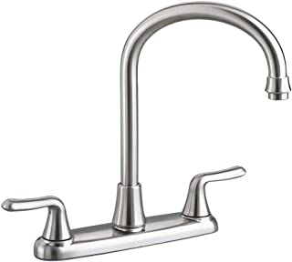 American Standard 4275550F15.075 Colony Soft 2-Handle High-Arc Kitchen Faucet with 1.5 gpm Aerator, Stainless Steel