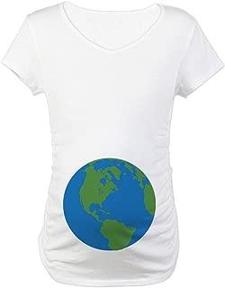 Halloween Planet Earth Maternity Tee