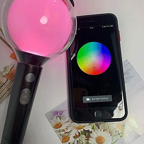 BTS Army Bomb Leuchtstab Soul Map Special Edition, Passen Sie Die Lichtfarbe über Die Bluetooth Connect App + Idol Park Geschenk An