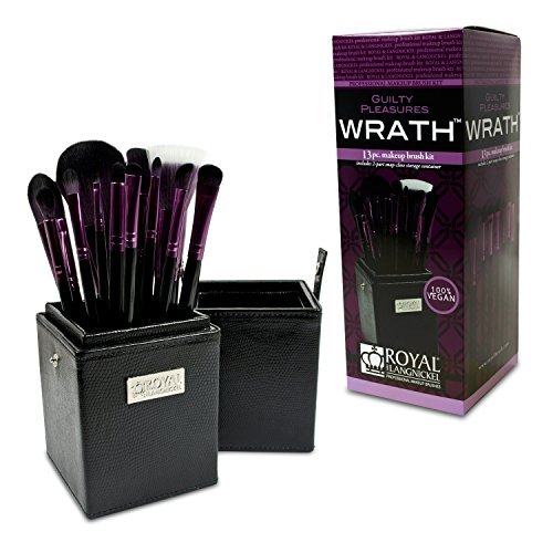 Royal Brush Guilty Pleasures Wrath Cosmetic Brush Box Kit by ROYAL BRUSH