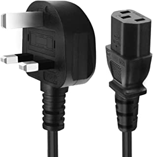 Desktop Power Cable 3 Pin with Fuse 1.5m