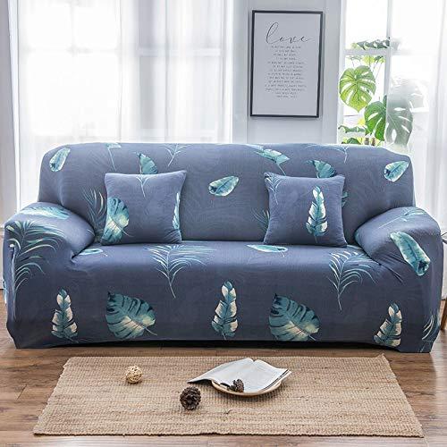 uyeoco Funda Elástica de Sofá Funda Estampada para sofá Antideslizante Protector Cubierta de Muebles (Color : Q, Size : Pillowcase*1)