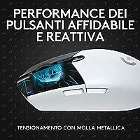 Logitech G305 K/DA LIGHTSPEED Mouse Gaming Wireless, Attrezzatura Ufficiale di League of Legends, Sensore HERO, Leggero, Tasti Programmabili, Autonomia 250h, Memoria Integrata - Bianco #8
