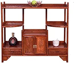 Solid Wood Dining Room Furniture Mahogany Tea Cabinet Classical Mahogany Cupboard Solid Wood Sideboard