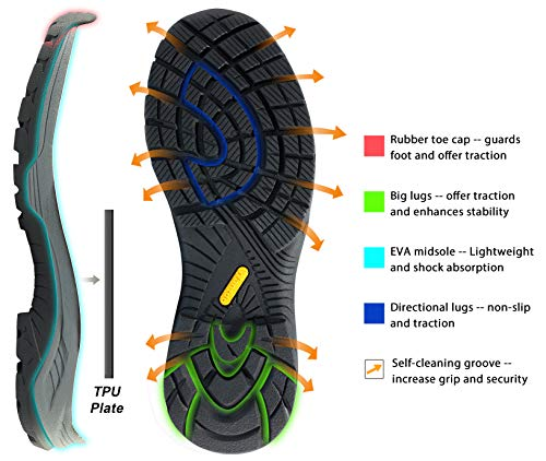 Wantdo Hiking And Trekking Shoes For Men