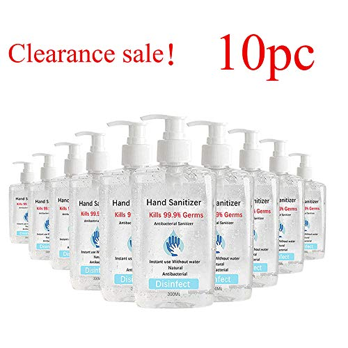 Large Hand Gel with Pump 300ml Speed Dry Hand Wash Free Advanced...