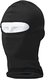 Your Choice Balaclava Thin UV Protective Sports Ski Face Mask (Black)