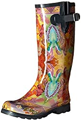 top rated Rain boots Nomad Women's Puddles III, Fall of India, 7 months USA 2021