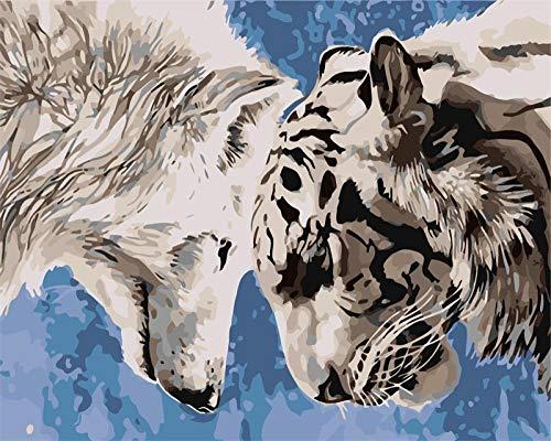 Puzzles Genuine Puzzles Puzzle 1 000 Niño Niña Interior Foto & Paisajes Tigre(75 * 50Cm)